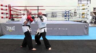 Lead Leg Front Kicks in Sparring