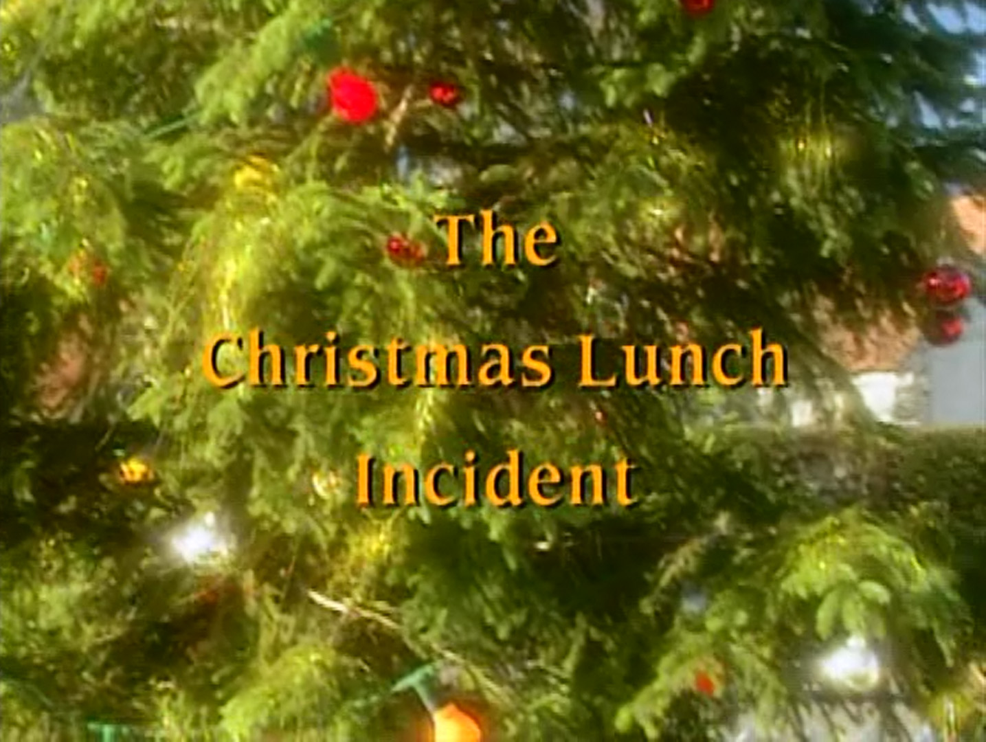 The Christmas Lunch Incident | The