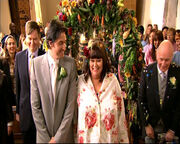 Geraldine and Harry's wedding