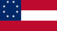 Current Flag of the Confederate States of America
