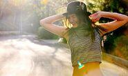 Victoria justice belly instagram