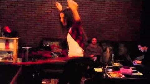 Victoria Justice Hula Hoop Skills