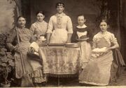 Victorian housemaids