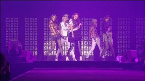 SMTOWN LIVE WORLD TOUR in PARIS f(x) LA chA TA