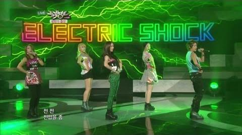 에프엑스 Electric Shock KBS MUSIC BANK 'the First Half Year Special' 2012.06.29