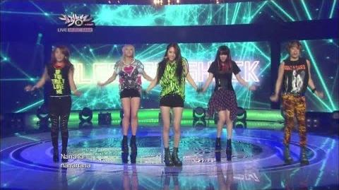 에프엑스 Electric Shock KBS MUSIC BANK 2012.06.22