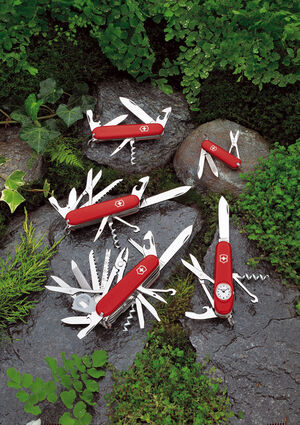 Swiss Army Knife Press Image