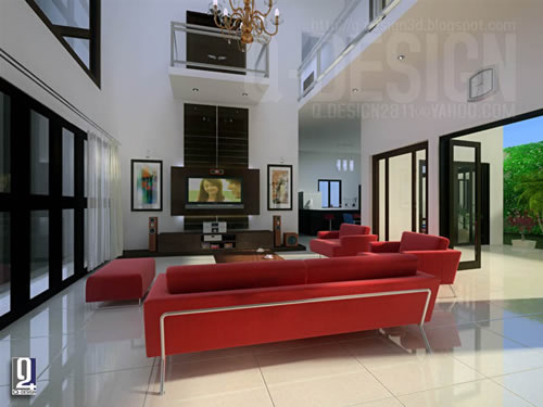 big house by qiang great living room designsjpg