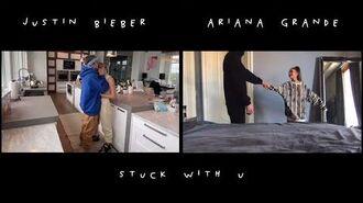 Ariana Grande & Justin Bieber - Stuck with U (Official Video)