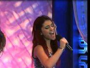 Singing it!