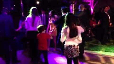 Victoria Justice, Matt Bennett, Ryan Rottman dancing