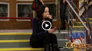Victorious The slap-Texting While Eating