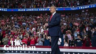 Donald Trump holds rally in Tulsa amid coronavirus fears – watch live