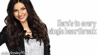 Victorious Cast ft. Victoria Justice - Here's 2 Us (with lyrics)
