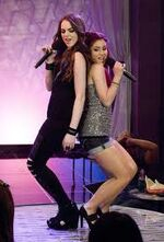Give it up cat and jade back to back