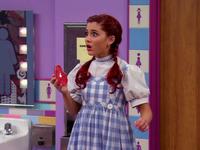 Cat as Dorothy