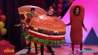 "Favorite Food Song Diddly-Bops ""Victorious"" Dan Schneider"