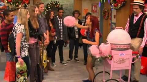 Victorious Behind the Scenes of 'A Christmas Tori'