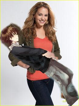 Hayley lifting Jimmy
