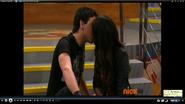 Tori kissing