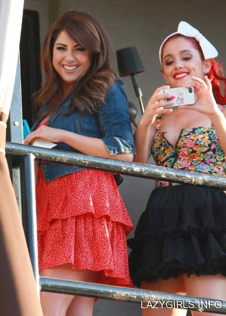 Daniella Monet And Ariana Grande