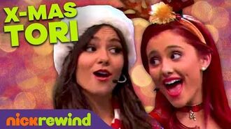 """""""It's Not Christmas Without You!"""" ft. Tori, Cat & Jade 🤶 Victorious! NickRewind"""