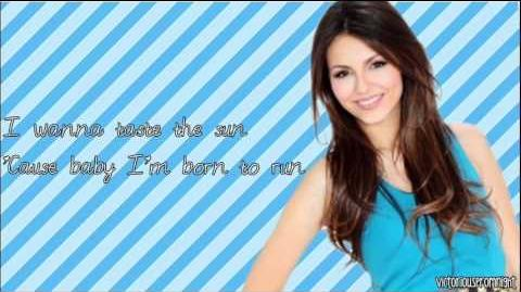 Victoria Justice - Make It In America (with lyrics)