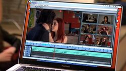 Bat kiss in PearBook editing software