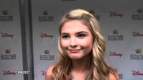 Stefanie Scott Interview 22nd Annual 'A Time For Heroes' Celebrity Carnival 2011