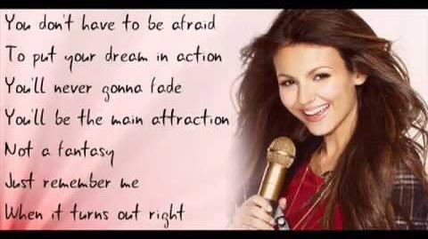 Victoria Justice --( Tori Vega - Intro ) Make It Shine lyrics