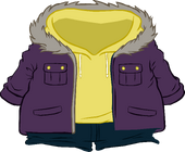 Purple Parka icon