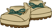 Beige Hiking Boots icon