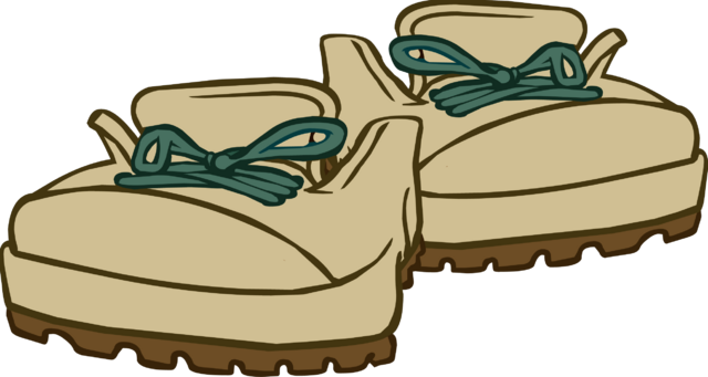 File:Beige Hiking Boots icon.png