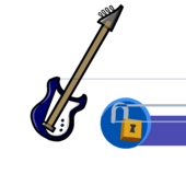 Blue Electric Bass icon