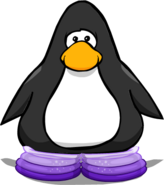 Purple Snuggly Boots Player Card