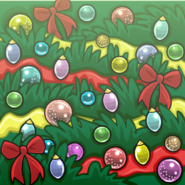 Holiday Tree Background Player Card