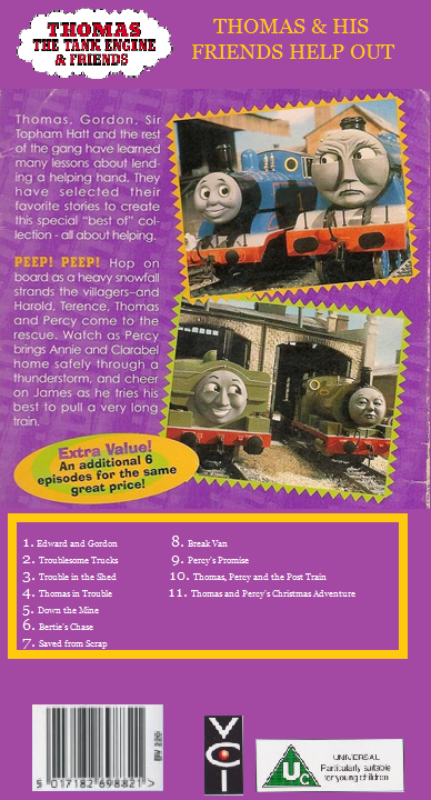 thomas the tank engine and friends thomas and his friends help out 1996 back coverpng