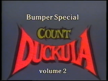 Count Duckula - Bumper Special - Volume 2 (UK VHS 1990) Title card