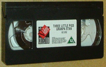 Grandpa Stan's 3 Little Pigs and Other Favourites (UK VHS 1993) Cassette