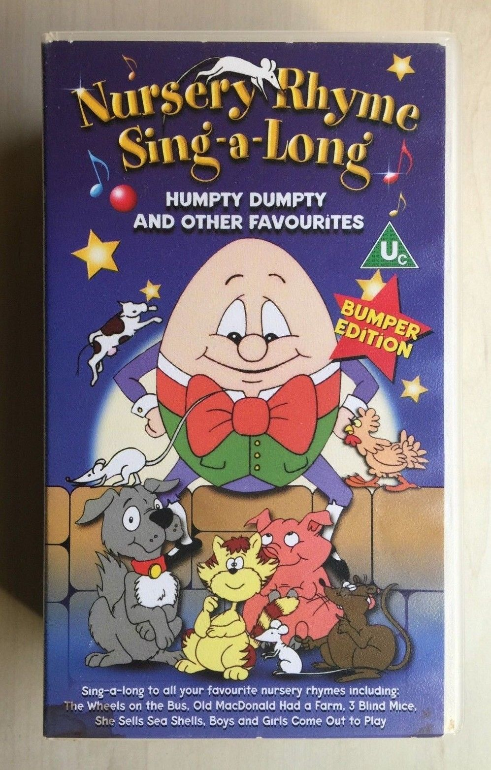 Nursery Rhyme Sing A Long Humpty Dumpty And Other Favourites
