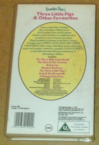 Grandpa Stan's 3 Little Pigs and Other Favourites (UK VHS 1993) Back cover
