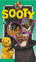 Sooty - Three Men In A Boat and Other Stories (UK VHS 1992)