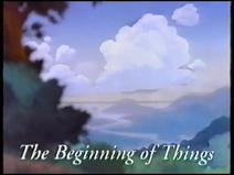 Britt Allcroft's Magic Adventures of Mumfie - Part One: The Beginning of Things (UK VHS 1994) Title card 1