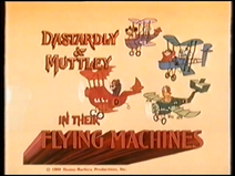 Dastardly and Muttley (UK VHS 1985) Title card