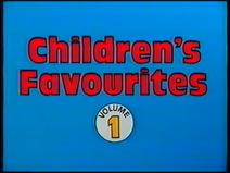Children's Favourites - Volume 1 (UK VHS 1988) Title card