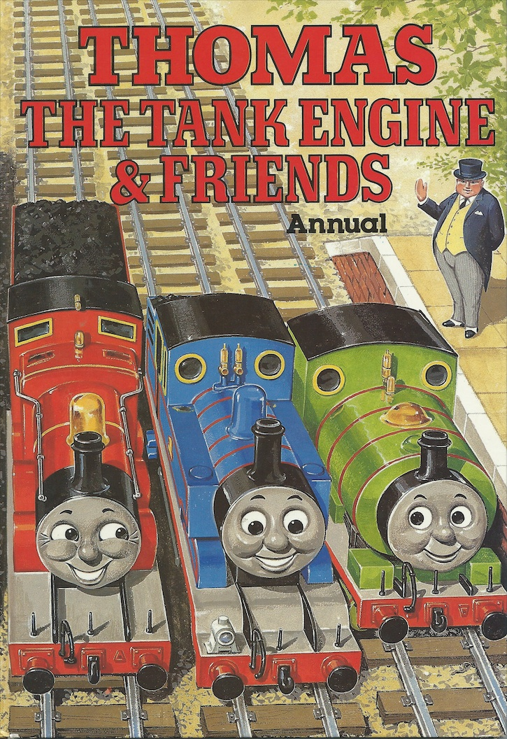 Thomas The Tank Engine And Friends Annual 1986 Video