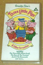 Grandpa Stan's 3 Little Pigs and Other Favourites (UK VHS 1993)
