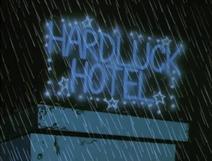 Hardluck Hotel Title Card