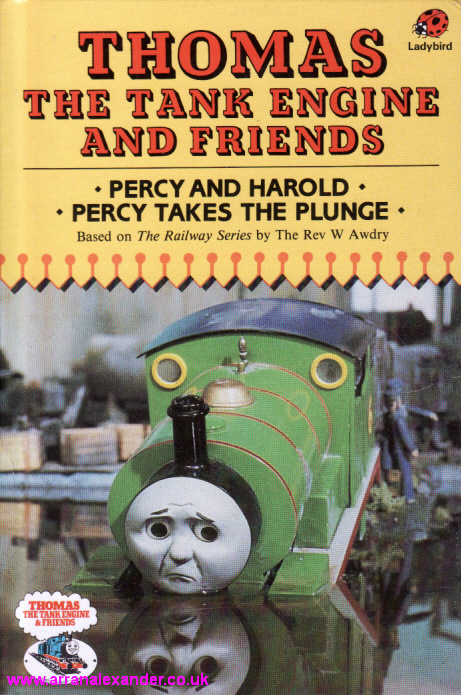 Percy And Harold Ladybird Book Thomas The Tank Engine Friends