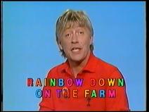 Rainbow - Down on the Farm (UK VHS 1987) Title card